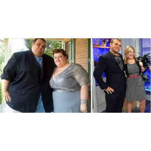 20 любящих пар, которые вместе распрощались с лишними килограммами