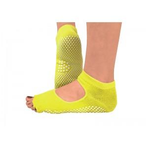 Носки для йоги нескользящие RAO Желтые (hub_jJXy34406)