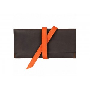 Тревел-кейс с лентой Шоколад Апельсин (152-15111421)
