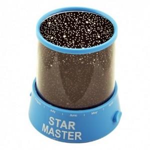Проектор звездного неба Star Master с USB-кабелем и адаптером Blue (SM013)