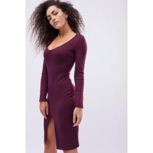 Платье Jill 10129-16 M Марсала