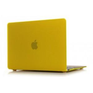 Пластиковый чехол Grand для MacBook 12-inch Retina Желтый (AL340-12New)