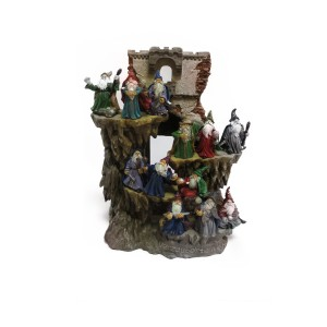 Статуэтка керамическая Волшебники (4012221254359)