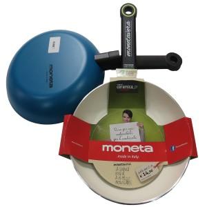 Сковорода с керамическим покрытием Moneta 22 см Синяя (30005198)