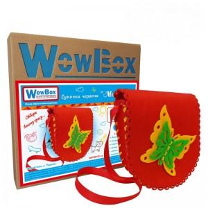 Конструктор-сумочка WowBox Бабочка Красная (sum2)