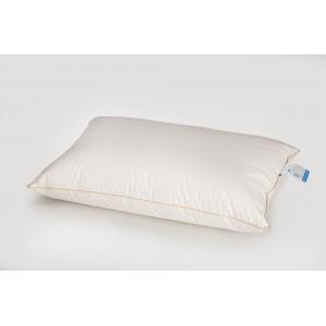 Подушка IGLEN пухо-перьевая 70% пух 30% мелкое перо 50x50 см Белая (50502)