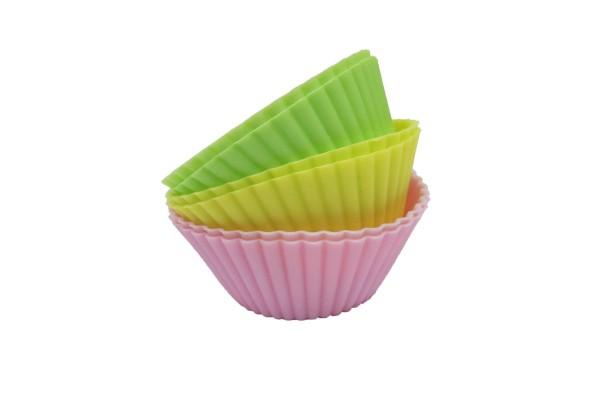Набор силиконовых форм для кексов Gusta 6 в 1