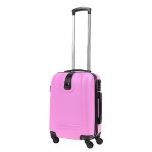 Чемодан Bagia LONDON S Розовый (5902687120512)