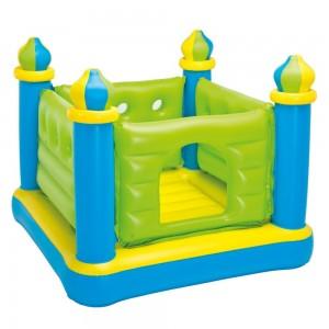 Батут надувной Intex 48257 132 х 132 х 107 см Замок (int48257)