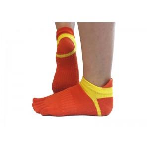 Носки для йоги нескользящие RAO Оранжевые (hub_nIWX95746)