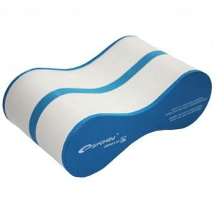Доска для плавания (колобашка) Spokey B8 Синий с белым