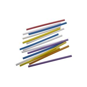 Трубочка для мартини 125 м 200 шт Разноцветные (76063)