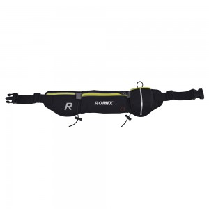 Сумка-пояс ROMIX с карманами Black (RH42B)