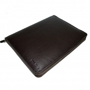 Холдер кожаный Shmatko Темно-коричневый (SH3719)