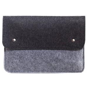 Чехол-конверт Gmakin для Macbook Pro 13 New черно-серый (GM05_13New)