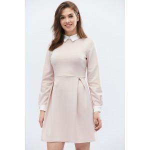 Платье Jill 10124-21 S Бежевый