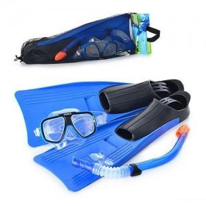 Набор для плавания Intex 55957 Спорт гипоалергенный Cиний (int55957)