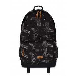 Рюкзак GARD BACKPACK-2 | Gun 2/18 45х32х14 см Черный (BP2-0007/GRD)
