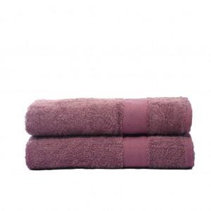 Хлопковое полотенце Antdecor 70x140 Фиолетовый (701705575571)