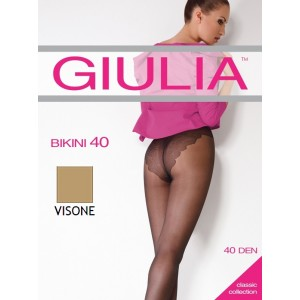 Колготки Giulia Bikini 40 ден 2 р Visone (1526467)