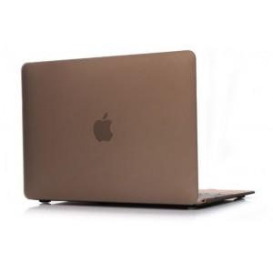 Пластиковый чехол Grand для MacBook 12-inch Retina Золотой (AL553-12New)