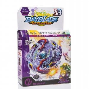 Набор Бейблейд BeyBlade S3 волчек с пусковым устройством Фиолетовый