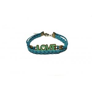 Женский браслет N29 – LOVE Бирюза (955029)