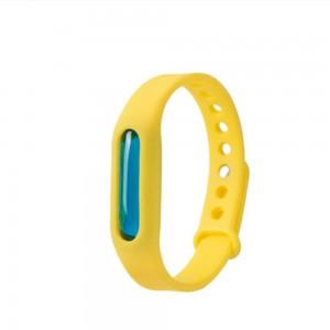 Силиконовый антимоскитный браслет KILNEX Желтый (SUN0321)