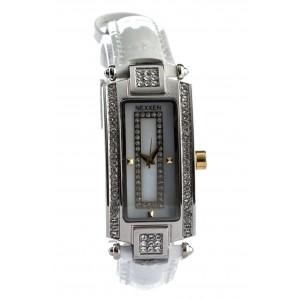 Женские часы Nexxen-12501CL 2T/SIL/WHT Белый
