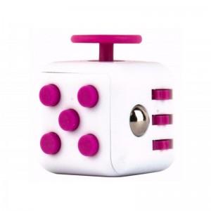Фиджет куб Fidget Cube White-Pink (987328)