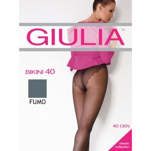 Колготки Giulia Bikini 40 ден 2 р Fumo (1526477)