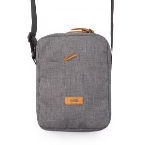 умка через плече GARD MESSENGER MINI BAG | Grey melange 2/18 Серый (MMB0002/GRD)