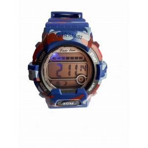 Электронные часы LanLin Синие (SP-0325BL)