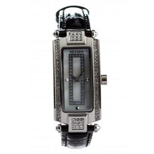 Женские часы Nexxen-12501CL PNP/SIL/BLK Черный