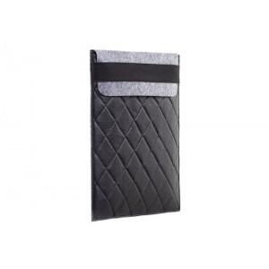 Чехол-конверт Gmakin для Macbook Pro 13 New фетр серый c резинкой (GM20_13New)
