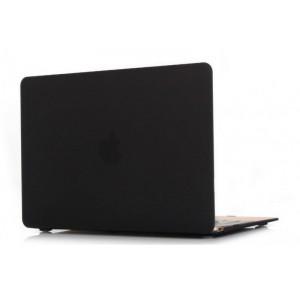 Пластиковый чехол Grand для MacBook 12-inch Retina Черный (AL342-12New)
