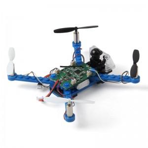 Радиоуправляемый квадрокоптер-конструктор mini X-101 Синий (gr006611)
