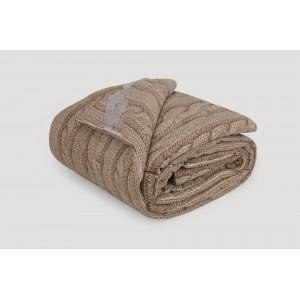 Одеяло IGLEN из хлопка во фланели Демисезонное 220х240 см Коричневый (22024071F)