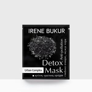 Detox-маска Irene Bukur для лица Anti-pollution с бамбуковым углем 20 мл (4820179661408)