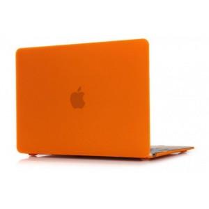 Пластиковый чехол Grand для MacBook 12-inch Retina Оранжевый (AL344-12New)