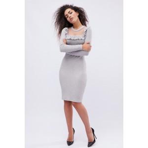 Платье Jill 10123-20 L Серый