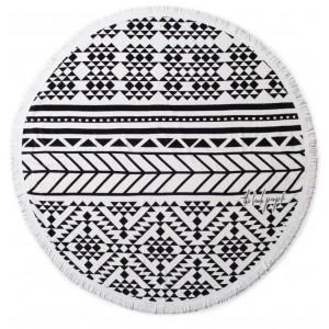 Пляжный коврик Kronos Top Black Style (top-452)