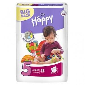 Подгузники Bella Happy Junior 5 (12-25 кг), 58 шт. (385740872)