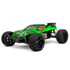 Модель автомобиля Трагги 1:10 Himoto Katana E10XTL Brushless Зеленый (2711486333411)