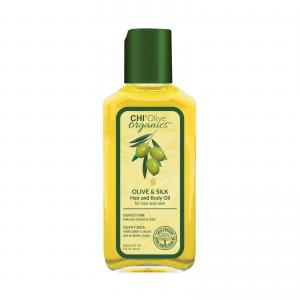 Шелковое масло с оливой CHI Olive Organics Olive & Silk Hair and Body Oil 59 мл