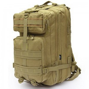 Тактический рюкзак с USB Molle Assault 36L Coyote (gr007032)