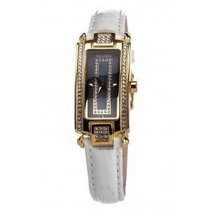 Женские часы Nexxen-12501CL GP/BLK/WHT Белый