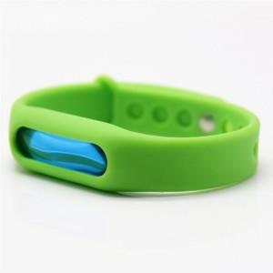 Силиконовый антимоскитный браслет KILNEX Зеленый (SUN0319)