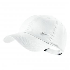 Кепка Nike Kids Metal Swoosh Cap Белая (405043-100)