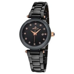 Женские часы Appella A-4182-8004 Черный